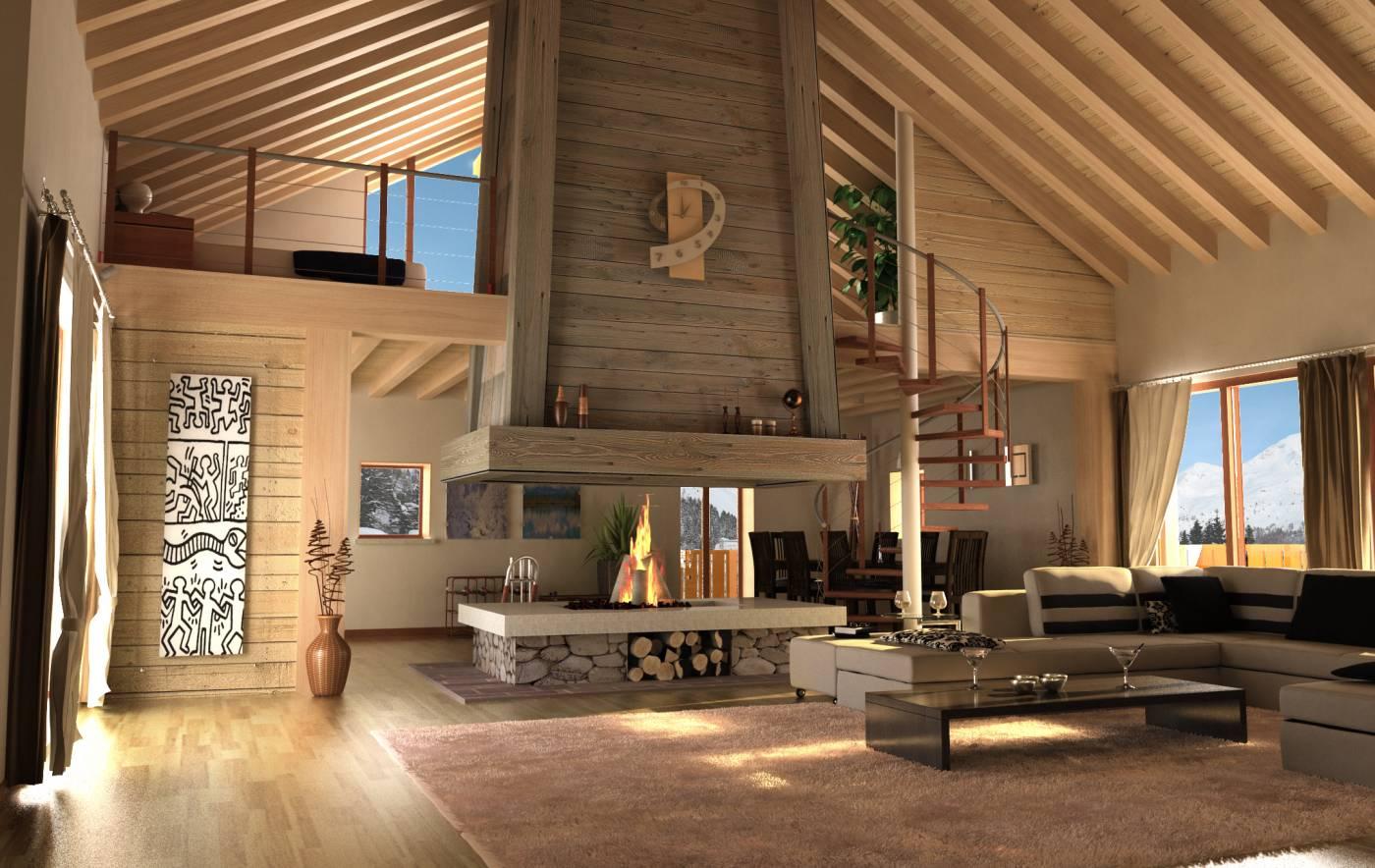 Val brembana case del parco for Case legno e pietra
